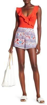 Show Me Your Mumu Martine Print Shorts