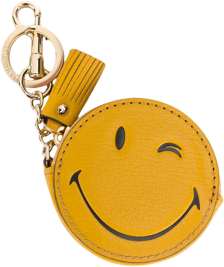 Anya Hindmarch Anya Hindmarch Wink coin purse keyring