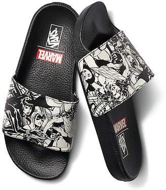 Vans X Marvel Slide-On