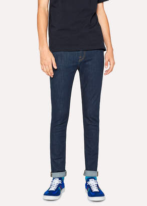 Paul Smith Men's Skinny-Fit 'Reflex Super Stretch' Blue Rinse Jeans