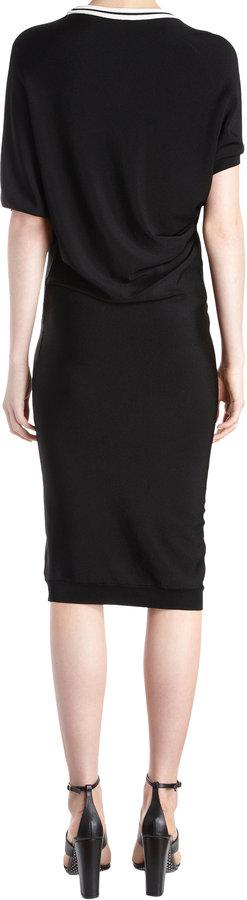 Ungaro Knit Short-sleeve Dress