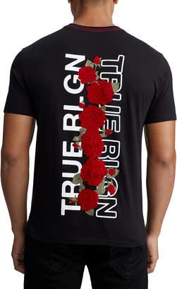 True Religion MENS TRUE ROSE GRAPHIC TEE