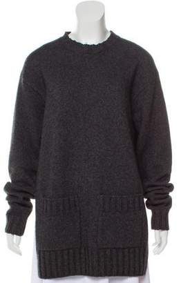 Celine Wool-Yak Crew Neck Sweater