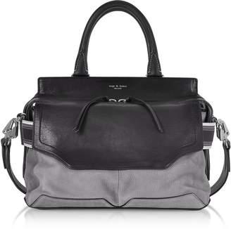 Rag & Bone Granite Colorblock Leather Pilot Satchel Bag