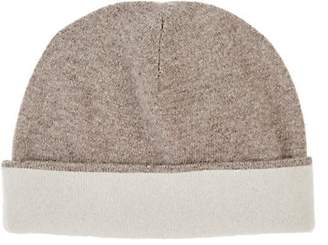Barneys New York WOMEN'S DOUBLE-FACED CASHMERE HAT-BEIGE, TAN