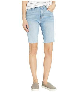 7 For All Mankind High-Waisted Stretch Bermuda Shorts in Roxy Lights 4