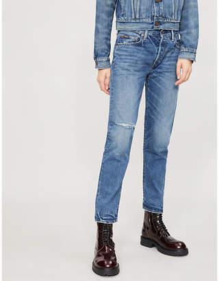 Polo Ralph Lauren Avery high-rise tapered-leg jeans