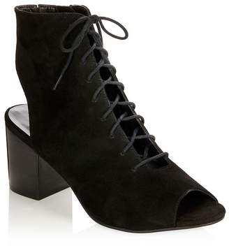 Long Tall Sally Lts Egypt Suede Lace Up Boots