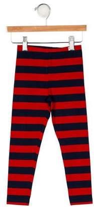 Mini Rodini Girls' Striped Skinny Leggings w/ Tags