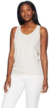Lark & Ro Women's Scoop Neck Sleeveless Tank Top