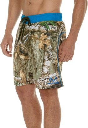 Trunks Men's Realtree Max-5 E-Board Shorts