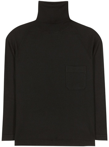 prada Prada Virgin Wool Turtleneck Sweater