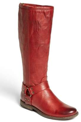 Frye Phillip Harness Tall Washed Leather Riding Boot