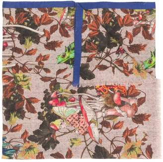 Etro all-over print scarf