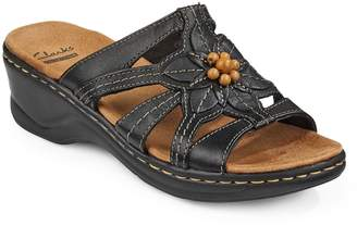 Clarks Collection By Lexi Myrtle Cushioned Slip-On Sandals