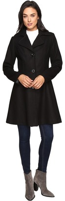 Betsey Johnson Button Up Wool Coat $280 thestylecure.com