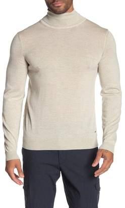 BOSS Musso Virgin Wool Turtleneck Sweater