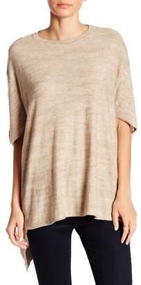 Joan Vass Oversize Cape Sweater