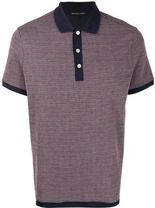 Michael Kors contrast trimmed polo shirt
