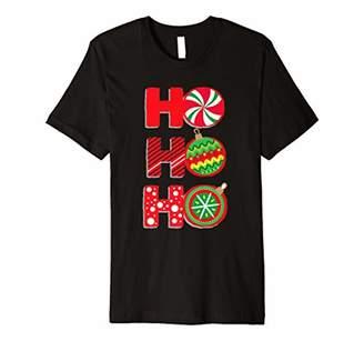 Ho Ho Ho T-shirt Funny Christmas Gift Shirt