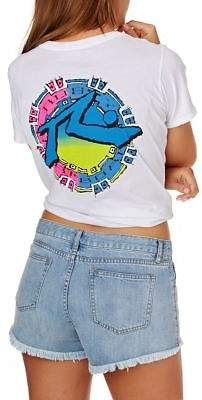 Rusty T-shirts Mayan Short Sleeve Tee - White