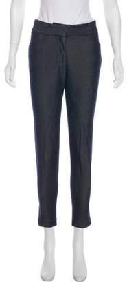 Prada Sport Mid-Rise Skinny Jeans