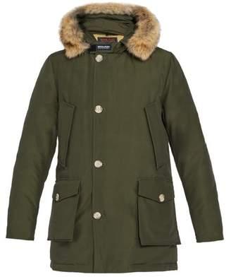 Woolrich Quilted Cotton Blend Parka - Mens - Green
