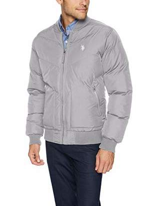 U.S. Polo Assn. Men's Quilted Recon Bomber Jacket