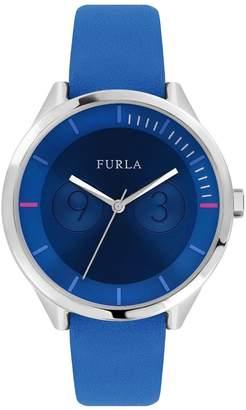 Furla Watches Women's Metropolis Sunray Blue Dial Watch, 38mm