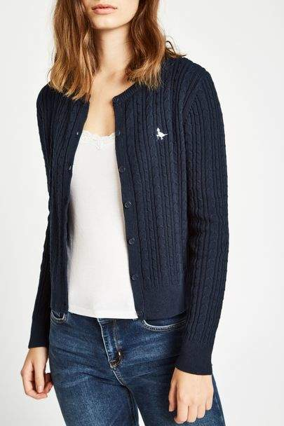 Langford Cable Cardigan