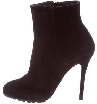 Ralph Lauren Purple Label Suede Ankle Boots