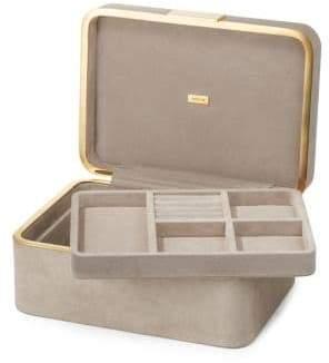Beauvais Suede Jewelry Box