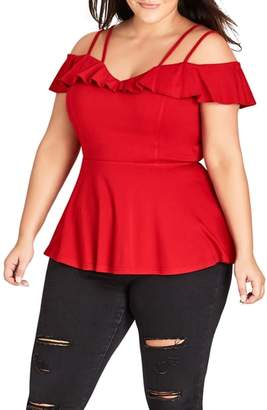 City Chic London Lover Top