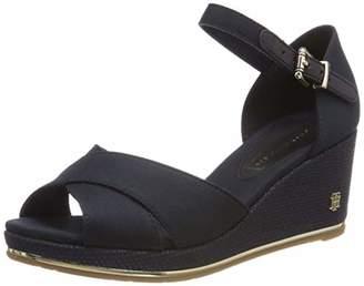 ae4d950a781e Tommy Hilfiger Women s Feminine Mid Wedge Sandal Basic Platform