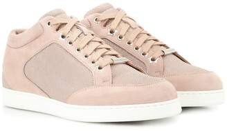 Jimmy Choo Miami suede sneakers