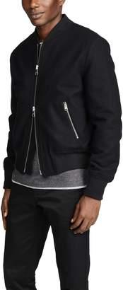 Ami Zipper Bomber Jacket