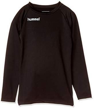 Hummel (ヒュンメル) - [ヒュンメル] サッカー ジュニアあったか丸首インナーシャツ HJP5147C [ボーイズ] ブラック (90) 日本 140 (日本サイズ140 相当)