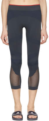 adidas by Stella McCartney Navy Train SL 3/4 Tights