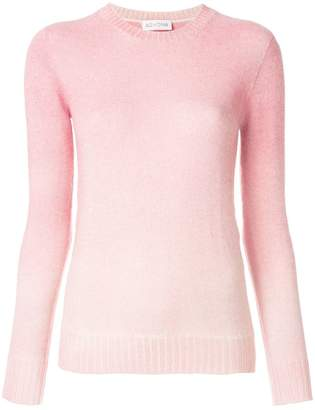 Agnona ombre fitted sweater