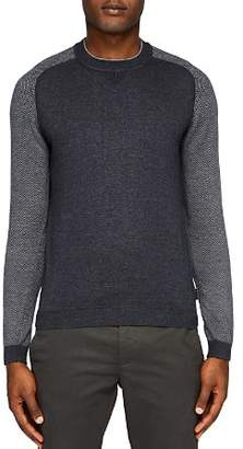 Ted Baker Pepmint Herringbone Detail Sweater