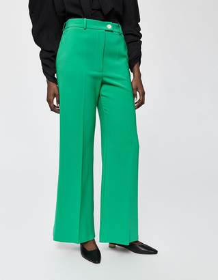 Awake Creased Wide Leg Trouser