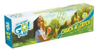 Toysmith Chuck N' Catch Ball & Racket Set