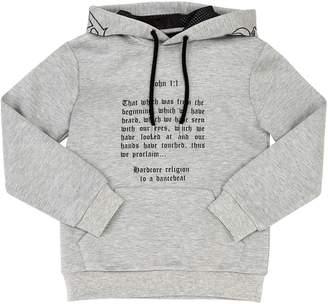 John Richmond Double Jersey Sweatshirt Hoodie