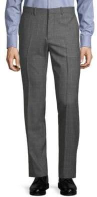 Theory Marlo Check-Print Wool Pants