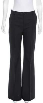 Bouchra Jarrar Mid-Rise Wool Pants w/ Tags