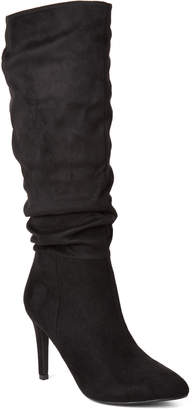 Gc Shoes Black Extrada Slouchy Tall Boots
