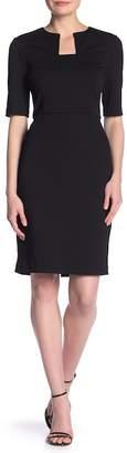 Trina Turk Scotch Solid Sheath Dress