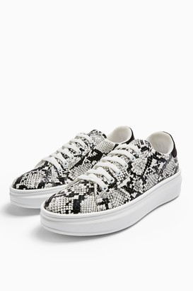 Topshop CUBA Lace Up Trainers