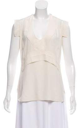 Derek Lam Sleeveless Silk Top
