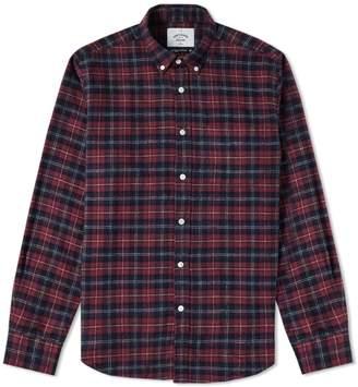Portuguese Flannel Studio Button Down Check Shirt